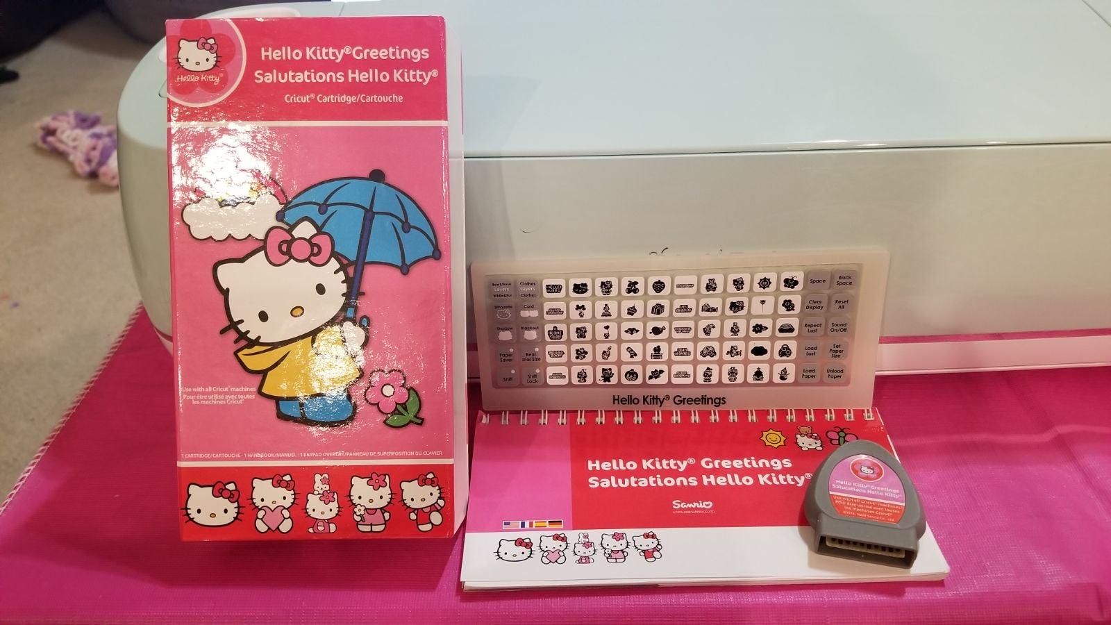 Hello Kitty Cricut cartridge UNLINKED