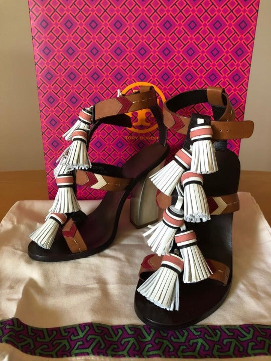 Tory Burch Tan/Light Almond Sandals