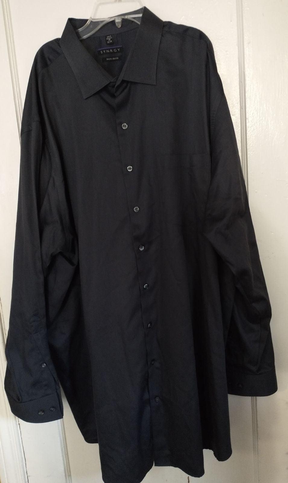 Synergy Charcoal Long Sleeve Shirt 37/38