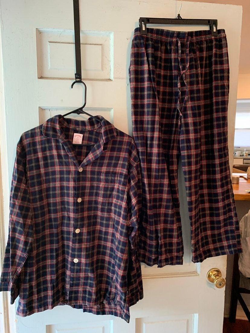 Brooks brothers plaid Flannel pajamas