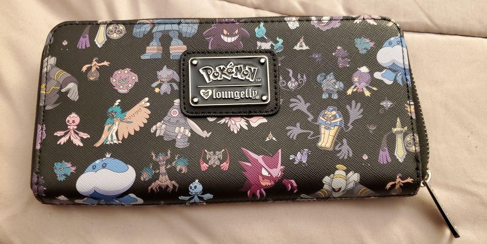 NWOT Pokemon Ghost Print Wallet