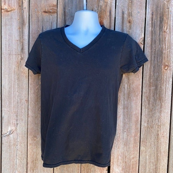 Lot of 5 Black and Grey Cotton Tees V