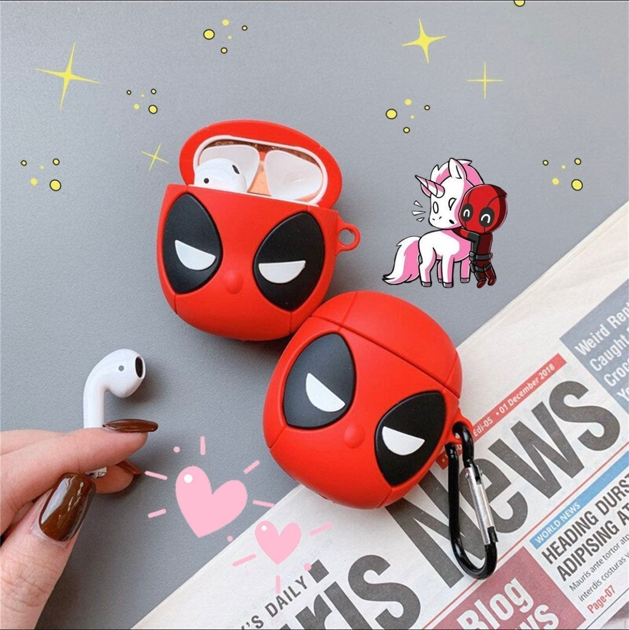 Deadpool airpod case