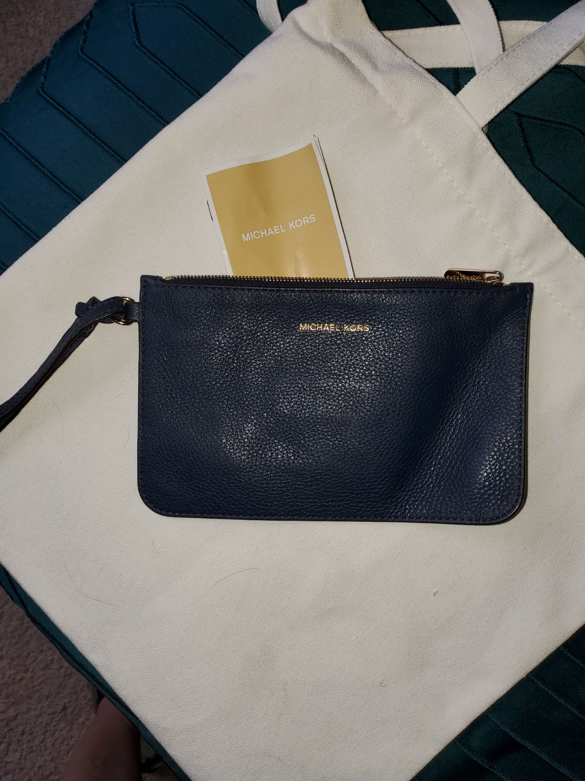 Michael Kors wristlet and wallet