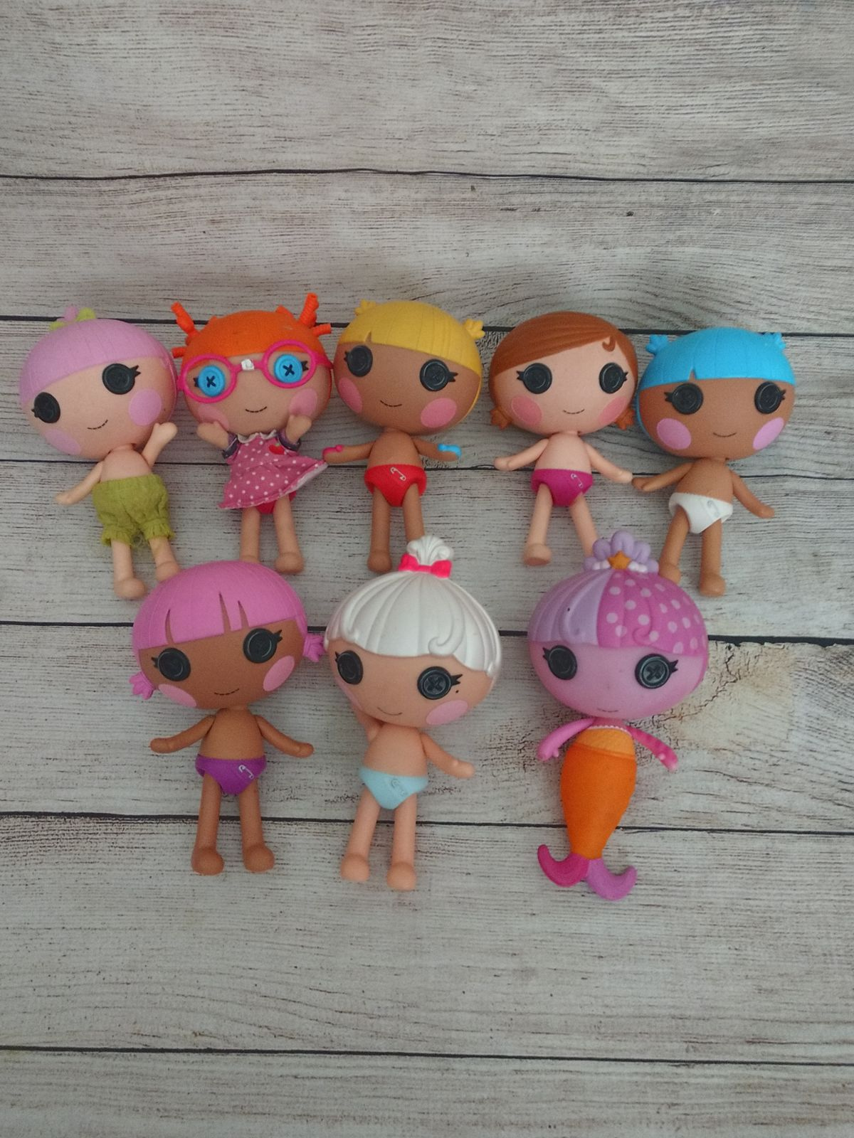 8 Lalaloopsy Baby Dolls Mermaid more