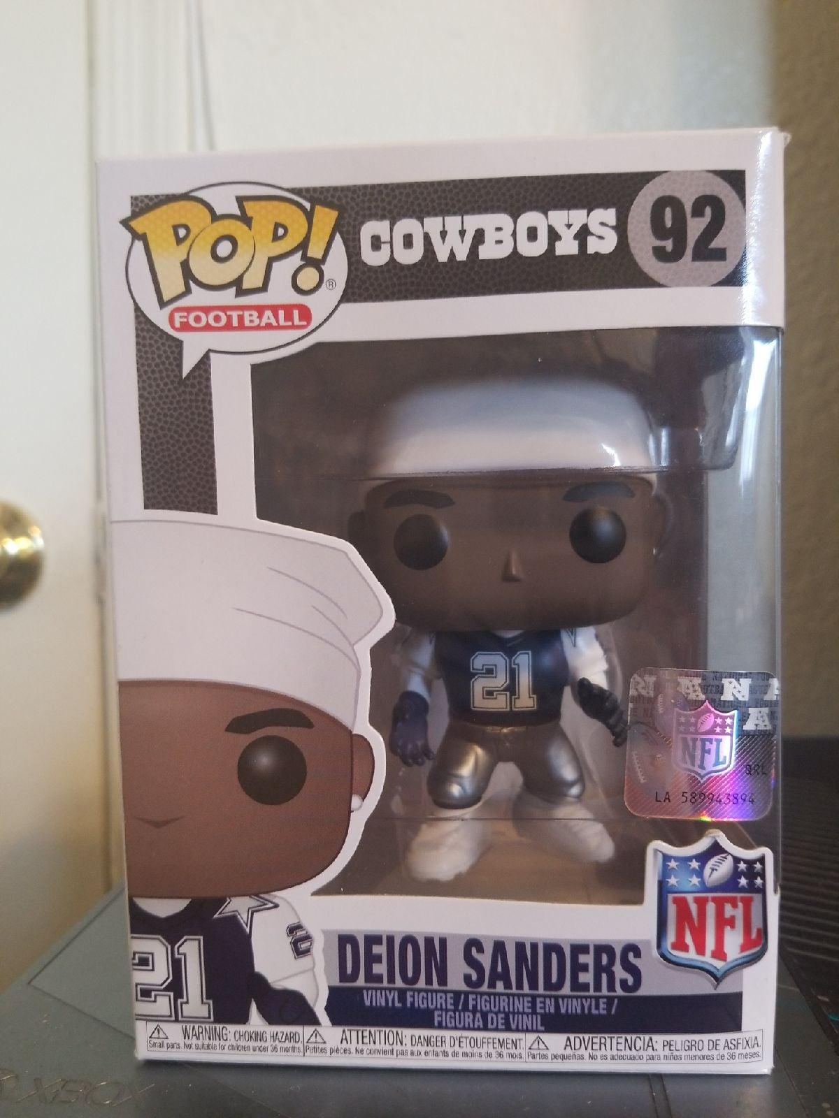 Cowboys Deion Sanders 92 Funko Pop