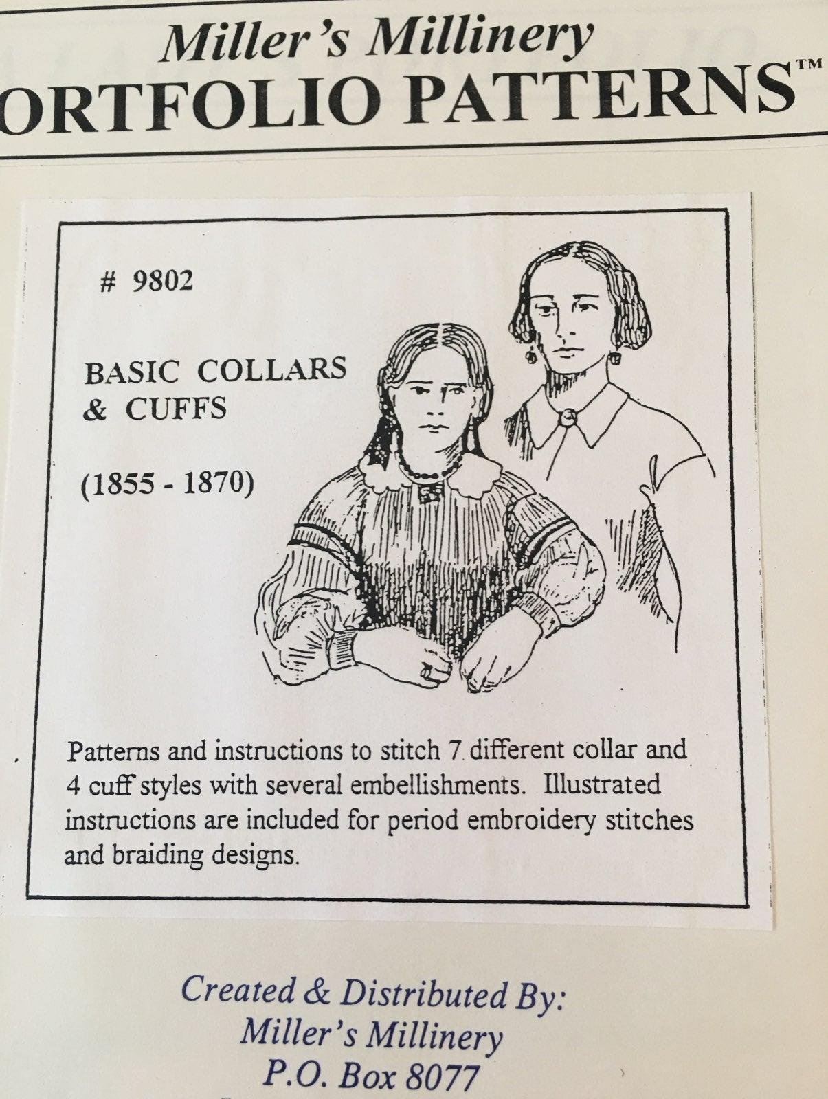 Civil War Pattern for Womens' Collar
