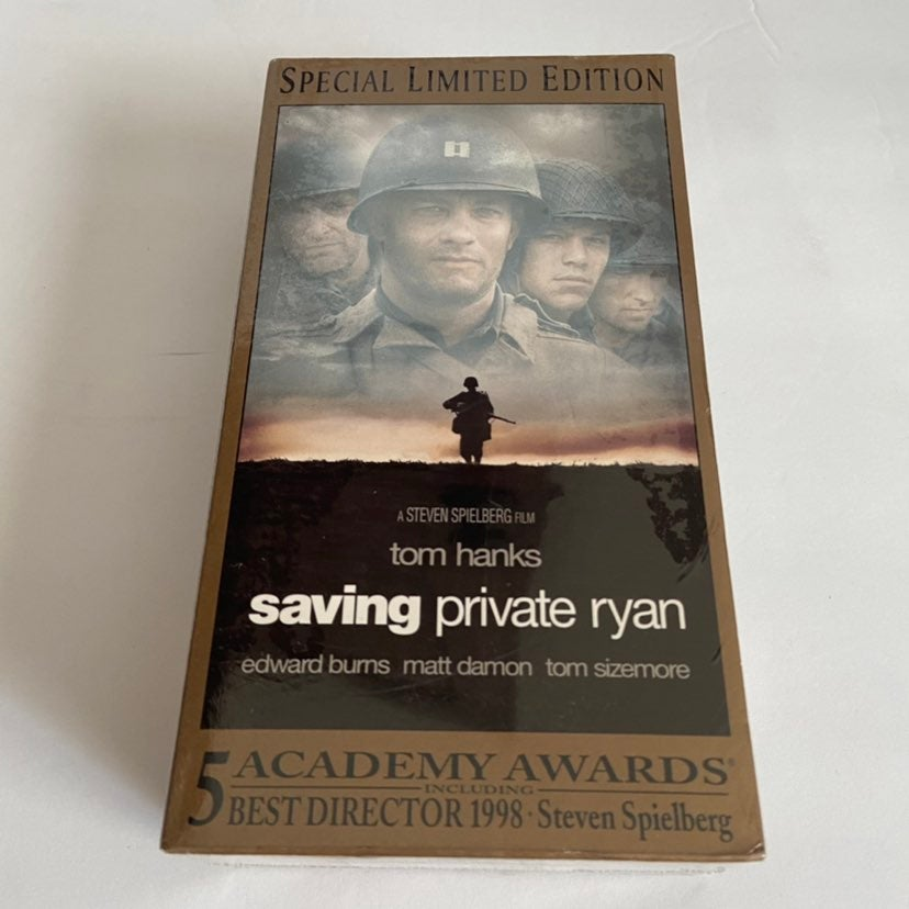 Saving Private Ryan 2 Tape VHS Set NEW