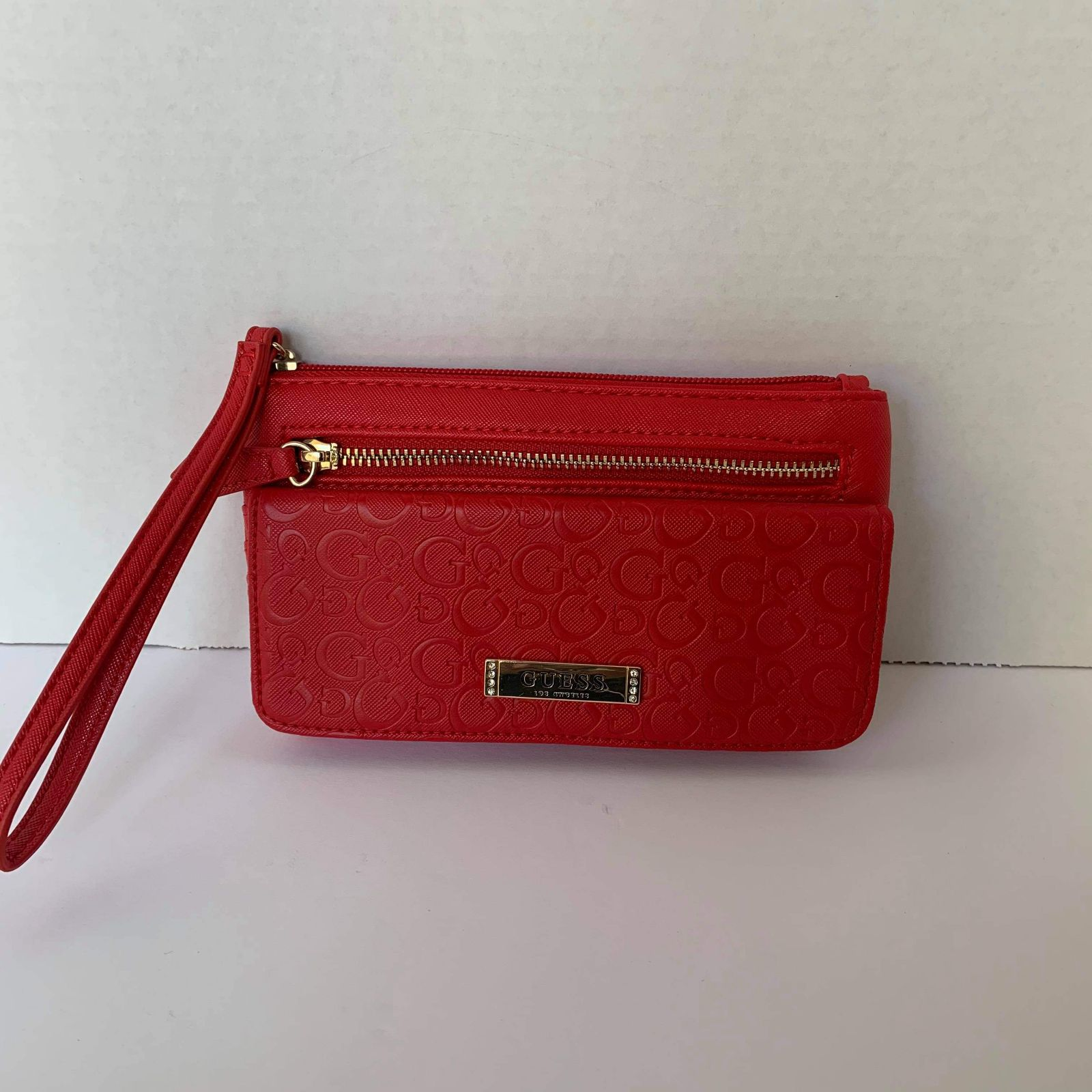 Red Guess Wallet/Wristlet