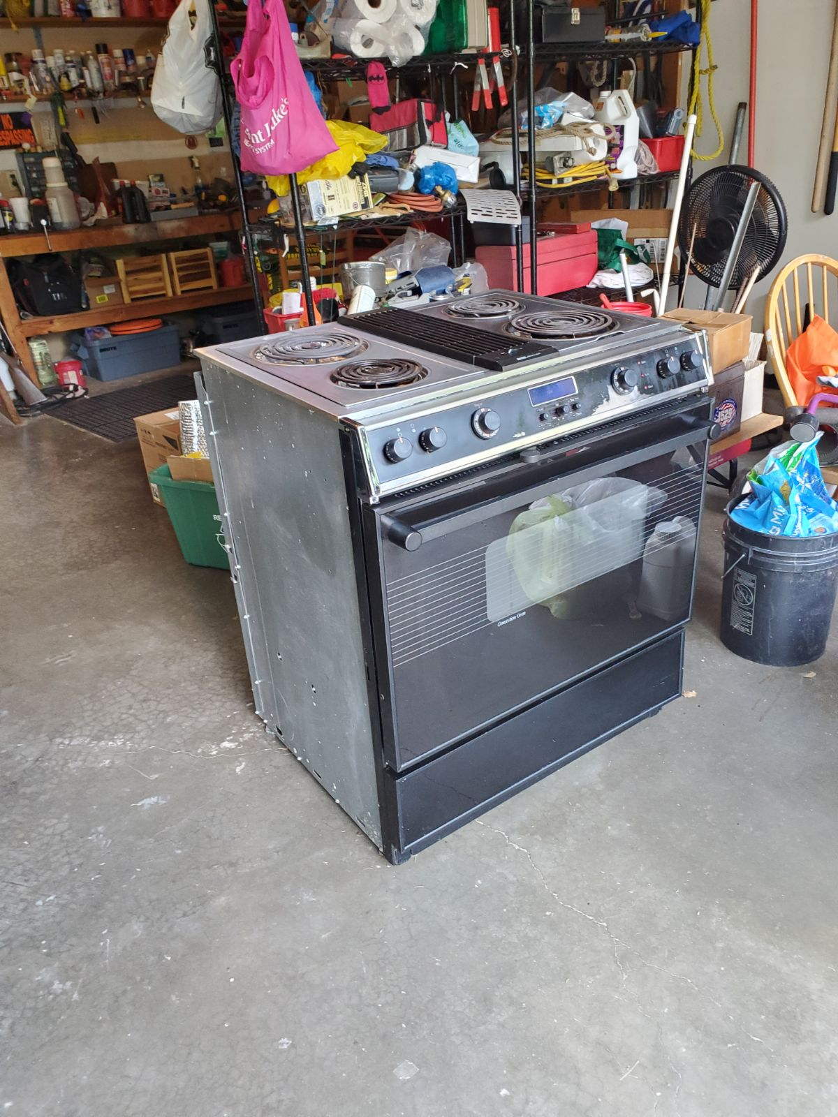Jenn-Air 4900 Series Electric Stove/oven