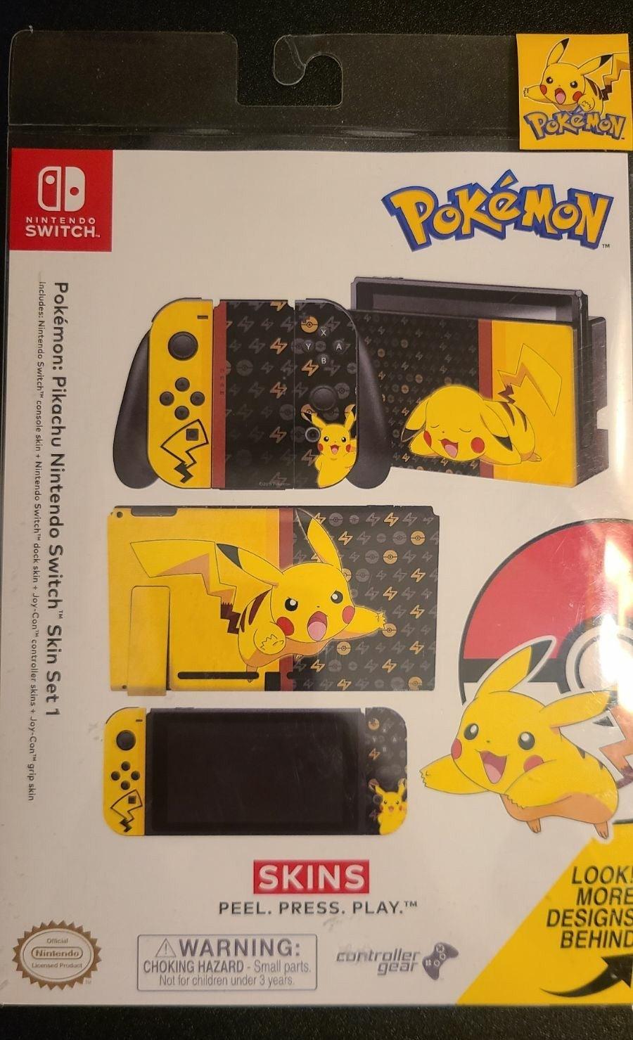 Pokemon Pikachu Skin