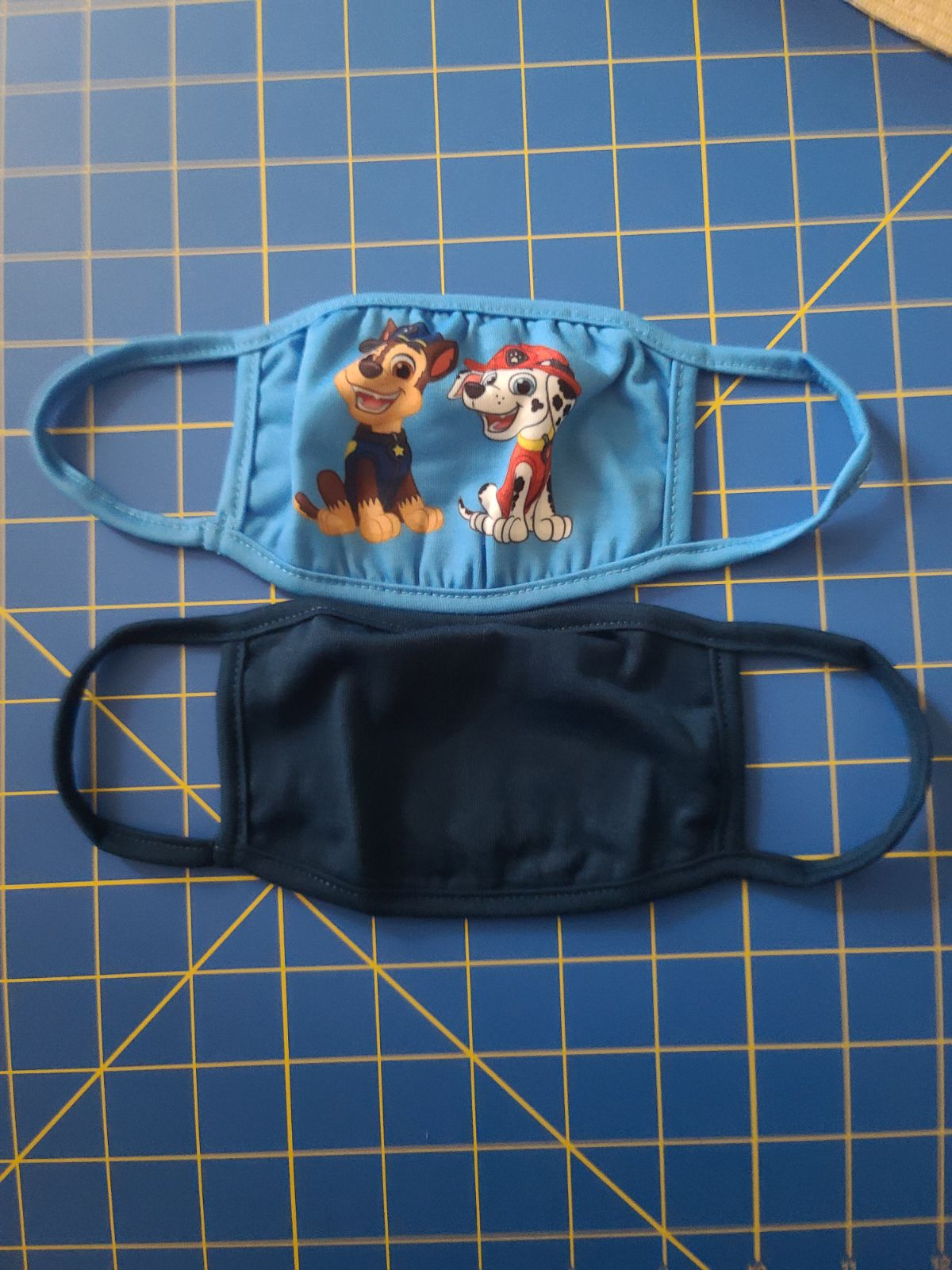Paw patrol youth face covering 2 pcs age