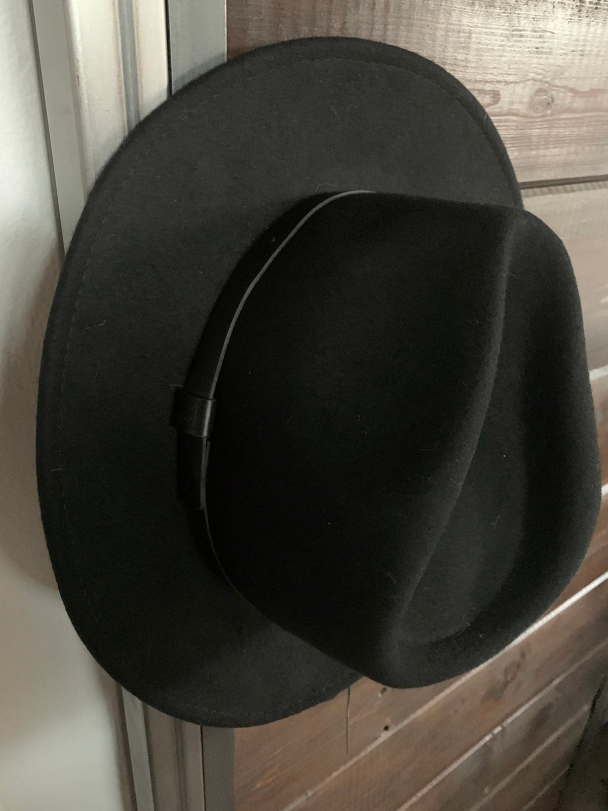 Brixton Unisex Messer Fedora Hat size M
