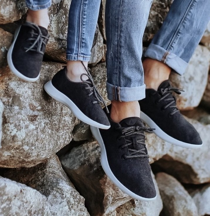 Allbirds Womens Olive Charcoal Sneakers