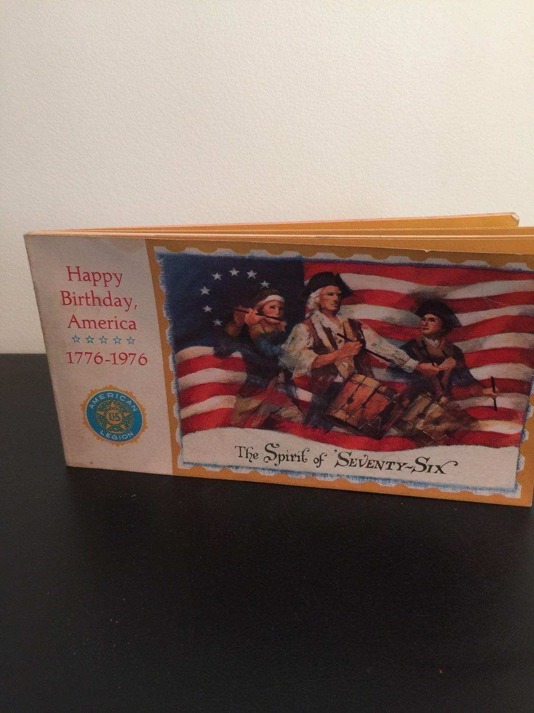 Vintage post card book