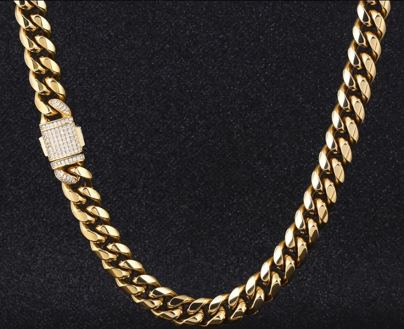 Gold 18in Miami Cuban Link