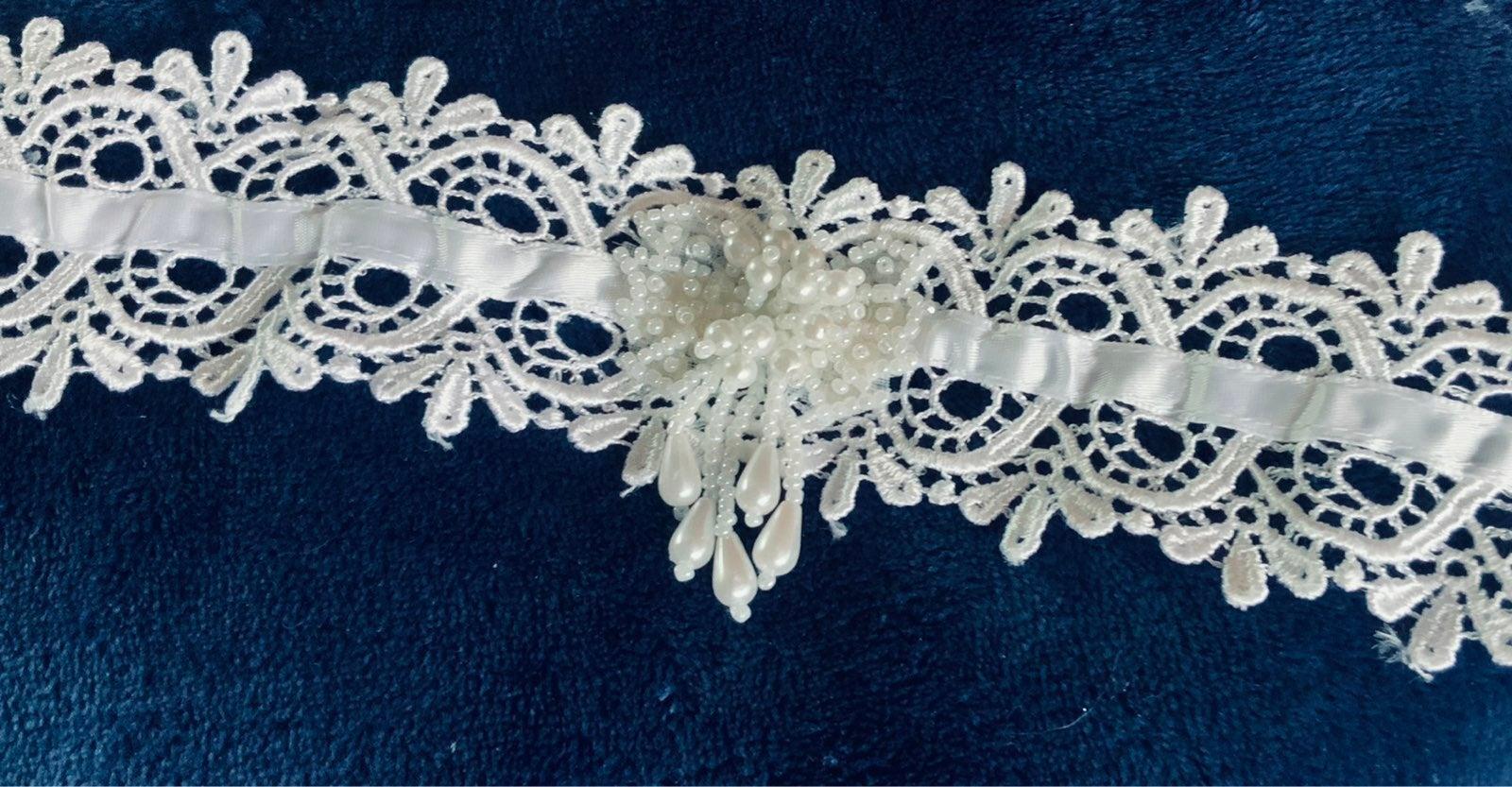 Handmade Vintage Lace Belt