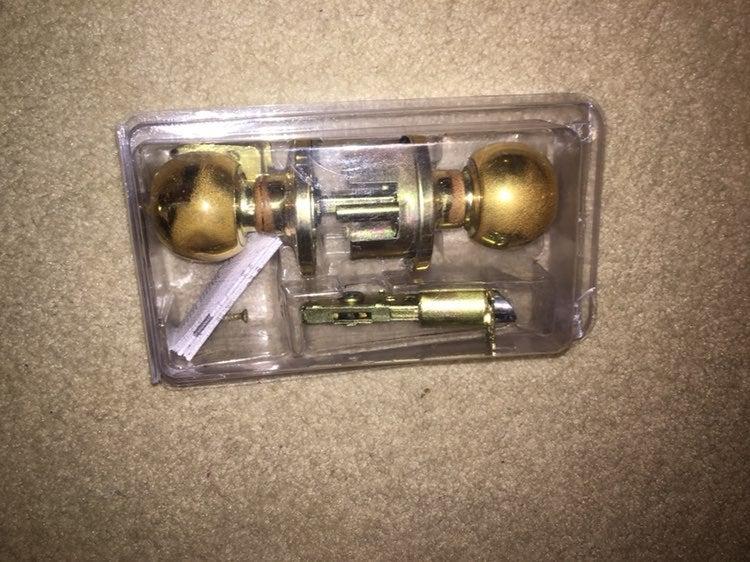 Brinks Door Knob Lock Set