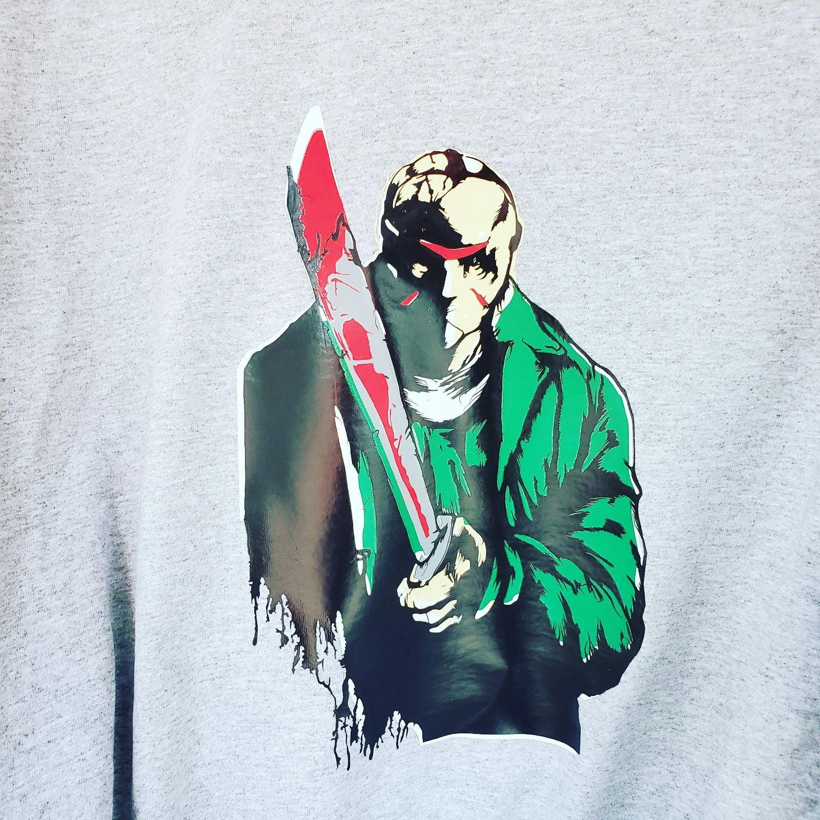 Custom Jason Voorhees shirt