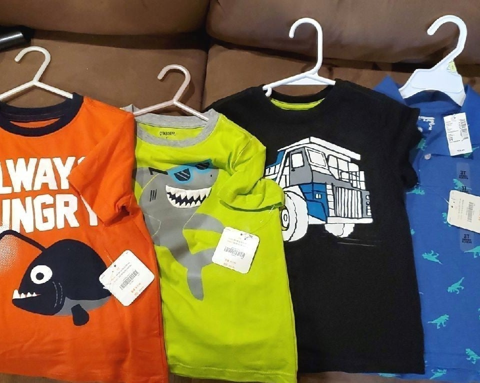 Boys 3t shirts lot