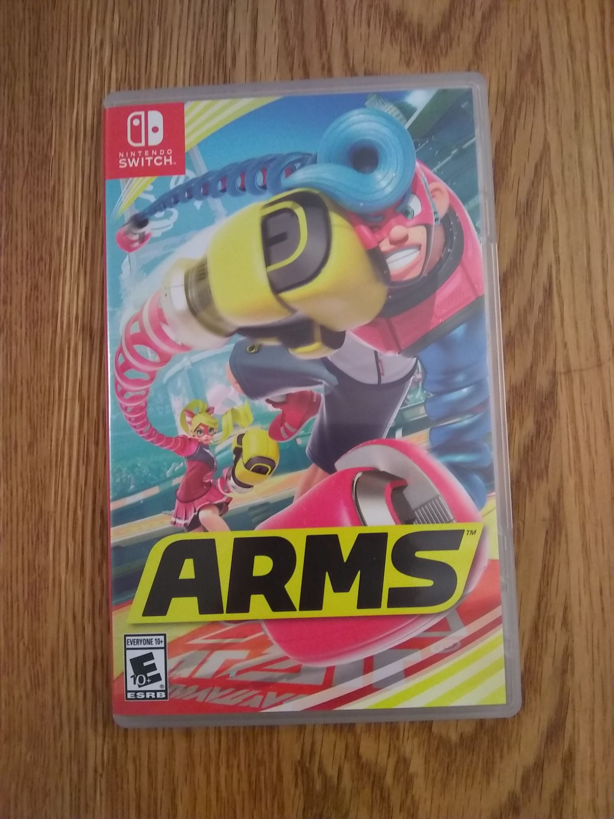 NSW ARMS (CASE) (NO GAMES!)