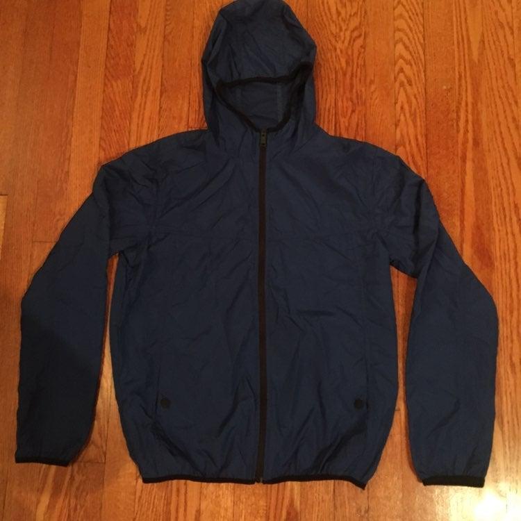 blue jacket for women size medium