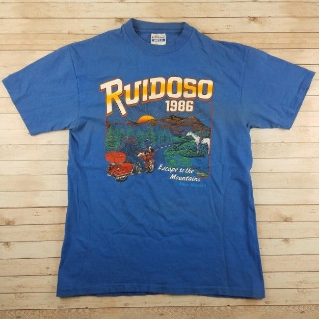 VTG 80s Ruidoso 1986 New Mexico T-Shirt