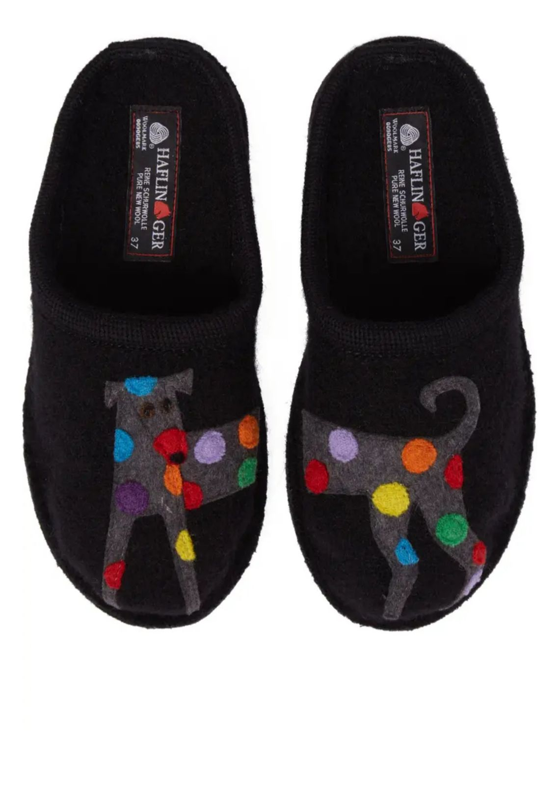 Haflinger Spotted Dog Slippers (37)