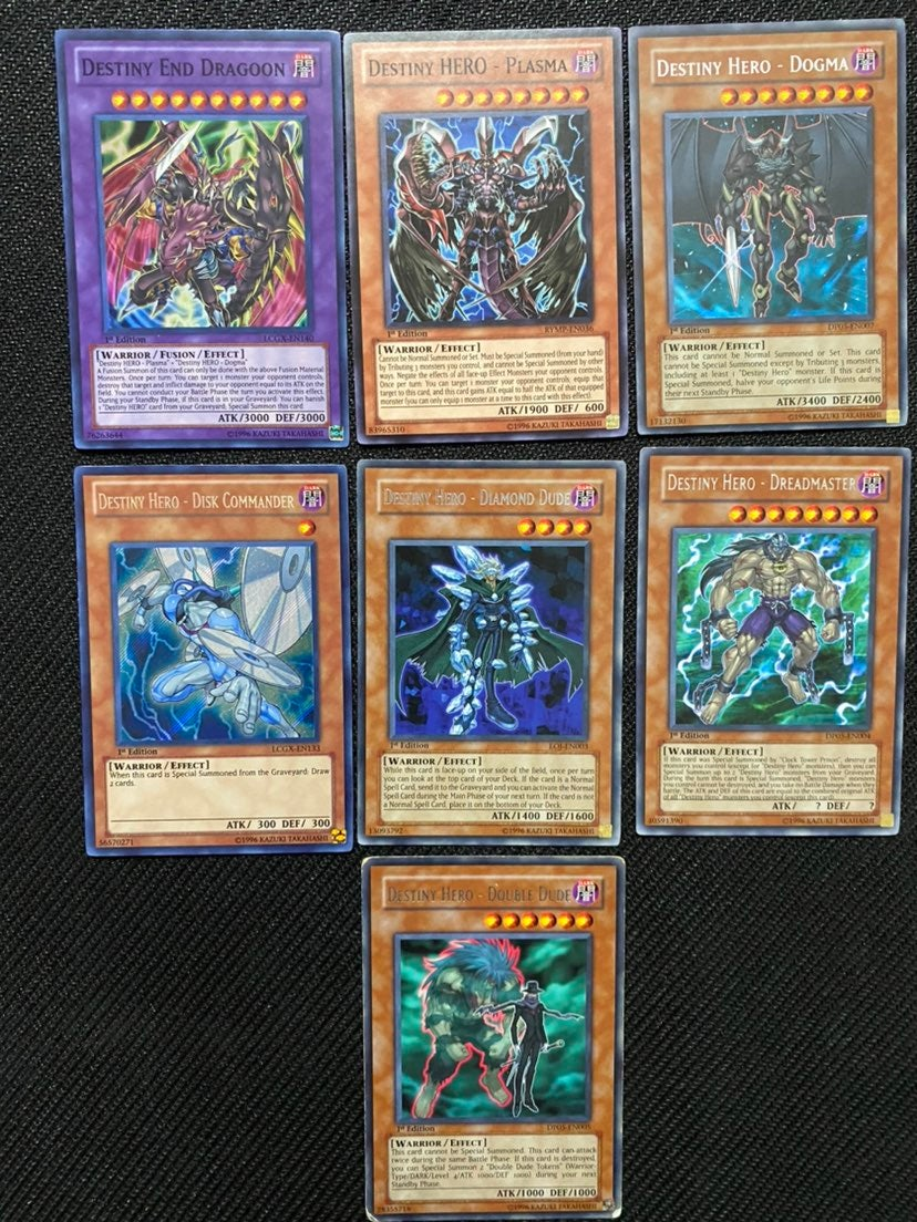 Destiny Hero Bundle Yugioh Cards