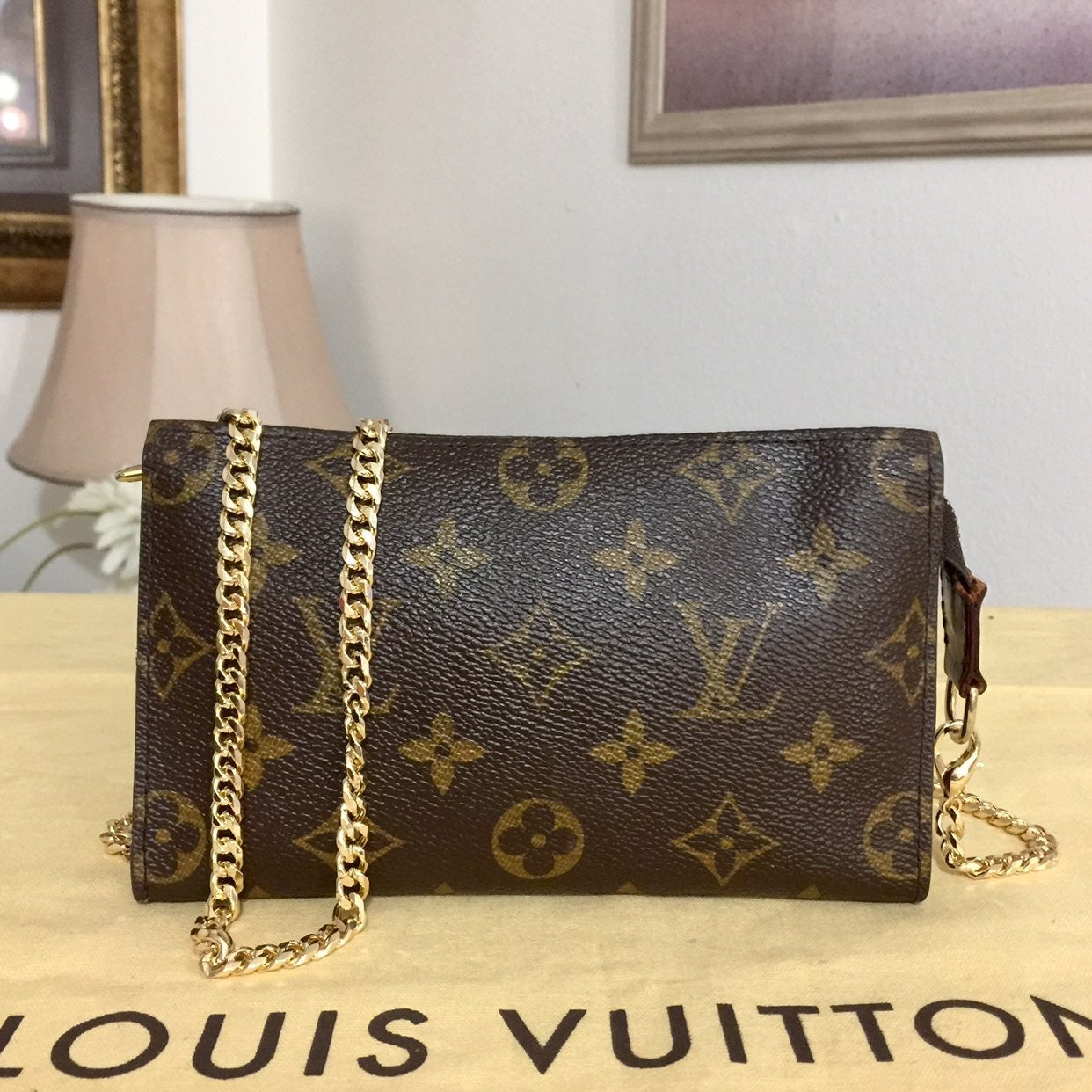 Louis Vuitton Bucket Pouch/Crossbody Bag