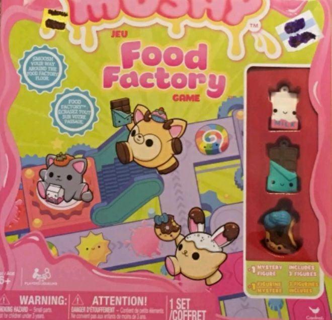 Smooshy Mushy Food Factory Game