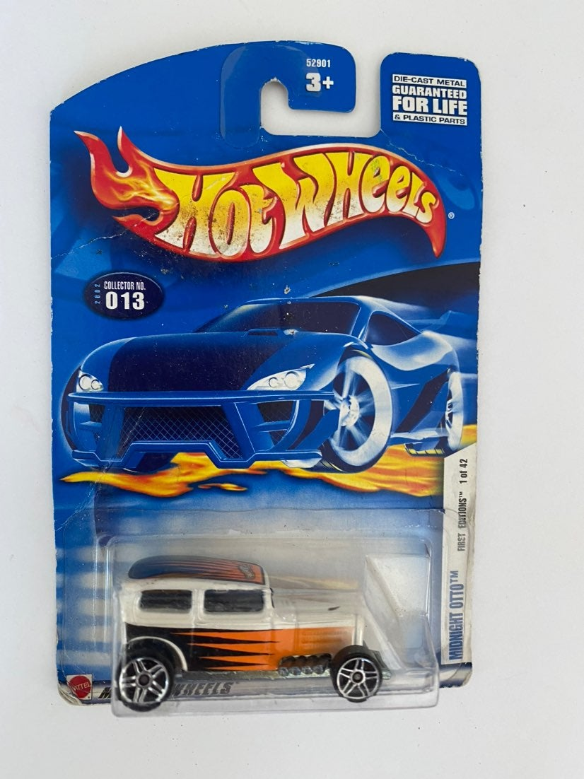 * Hot Wheels COLLECTOR 013 MIDNIGHT OTTO