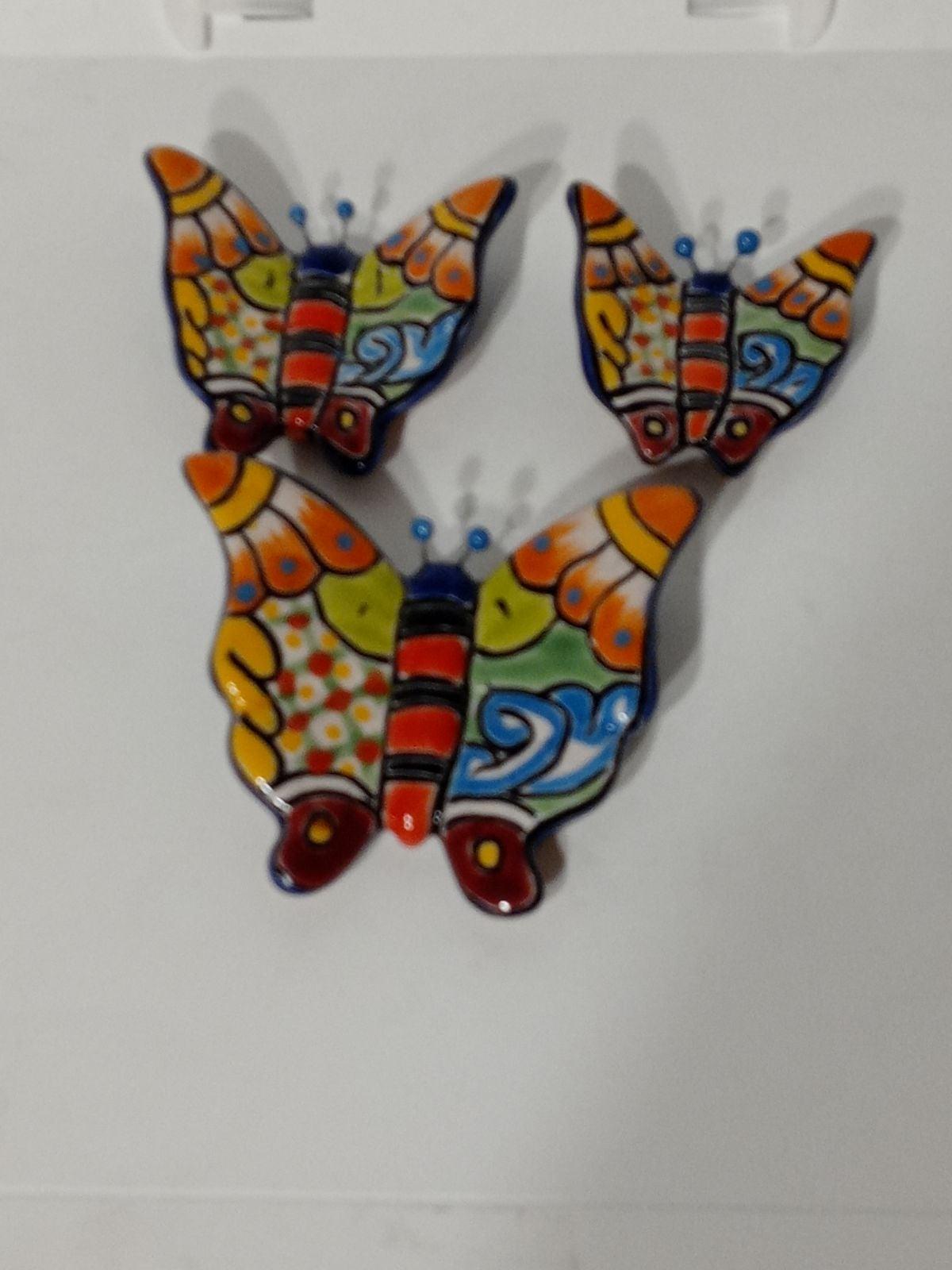 3pcs Talavera Butterfly set
