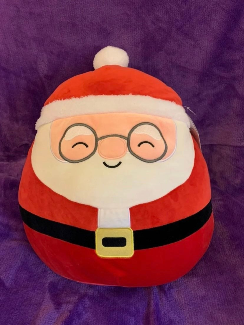 "Squishmallows Nick the Santa Claus 16"""