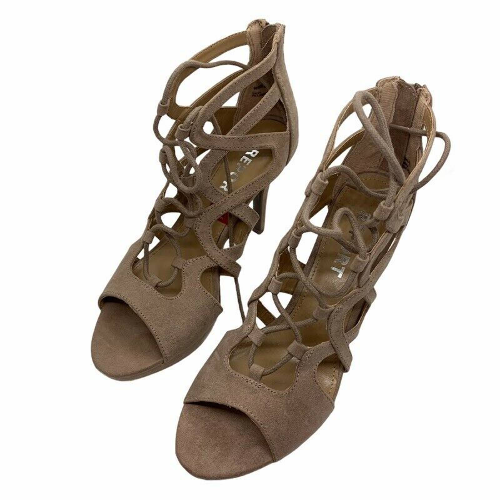 Report Laxy Gladiator Platform Shoes 8