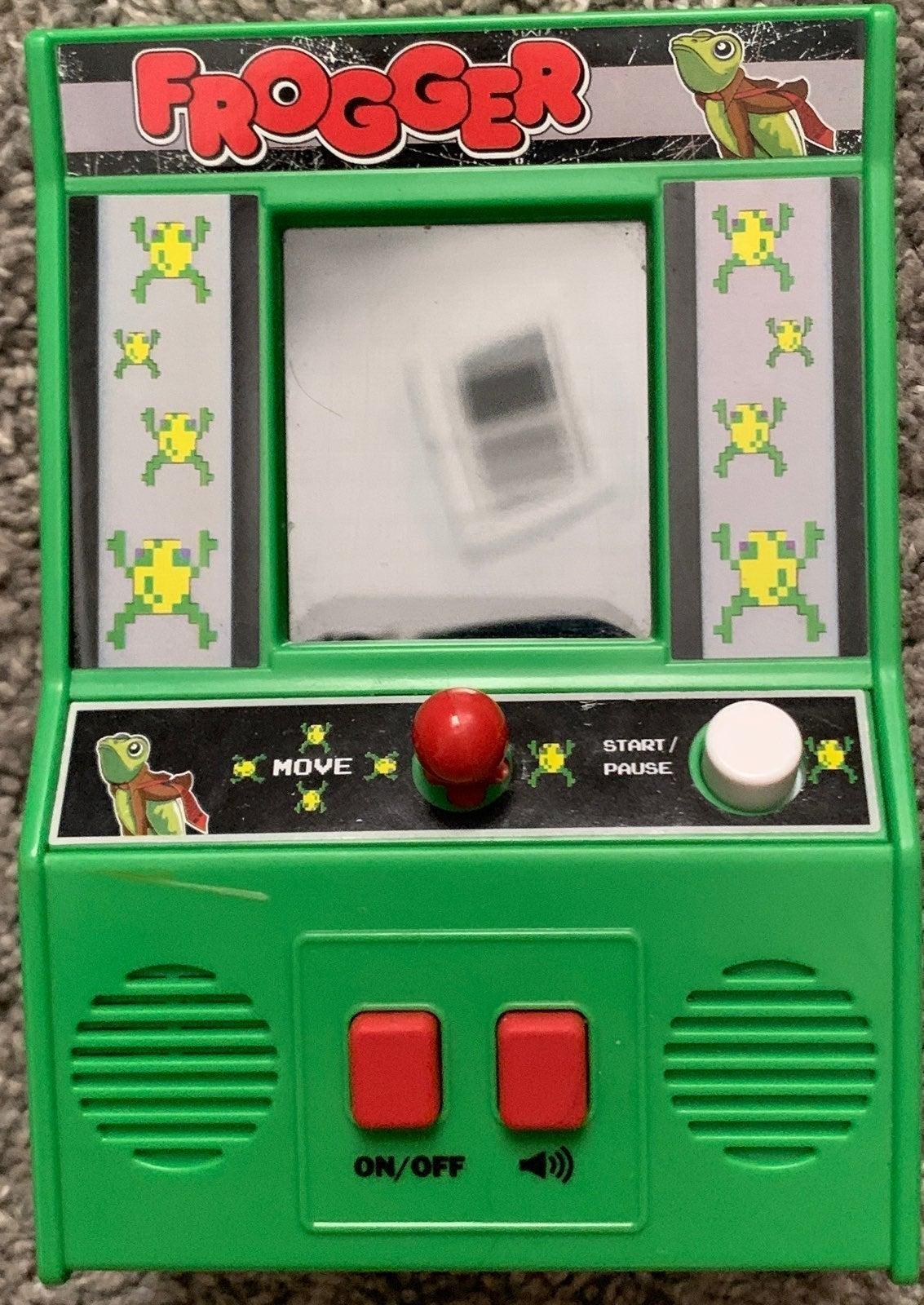 Frogger miny game