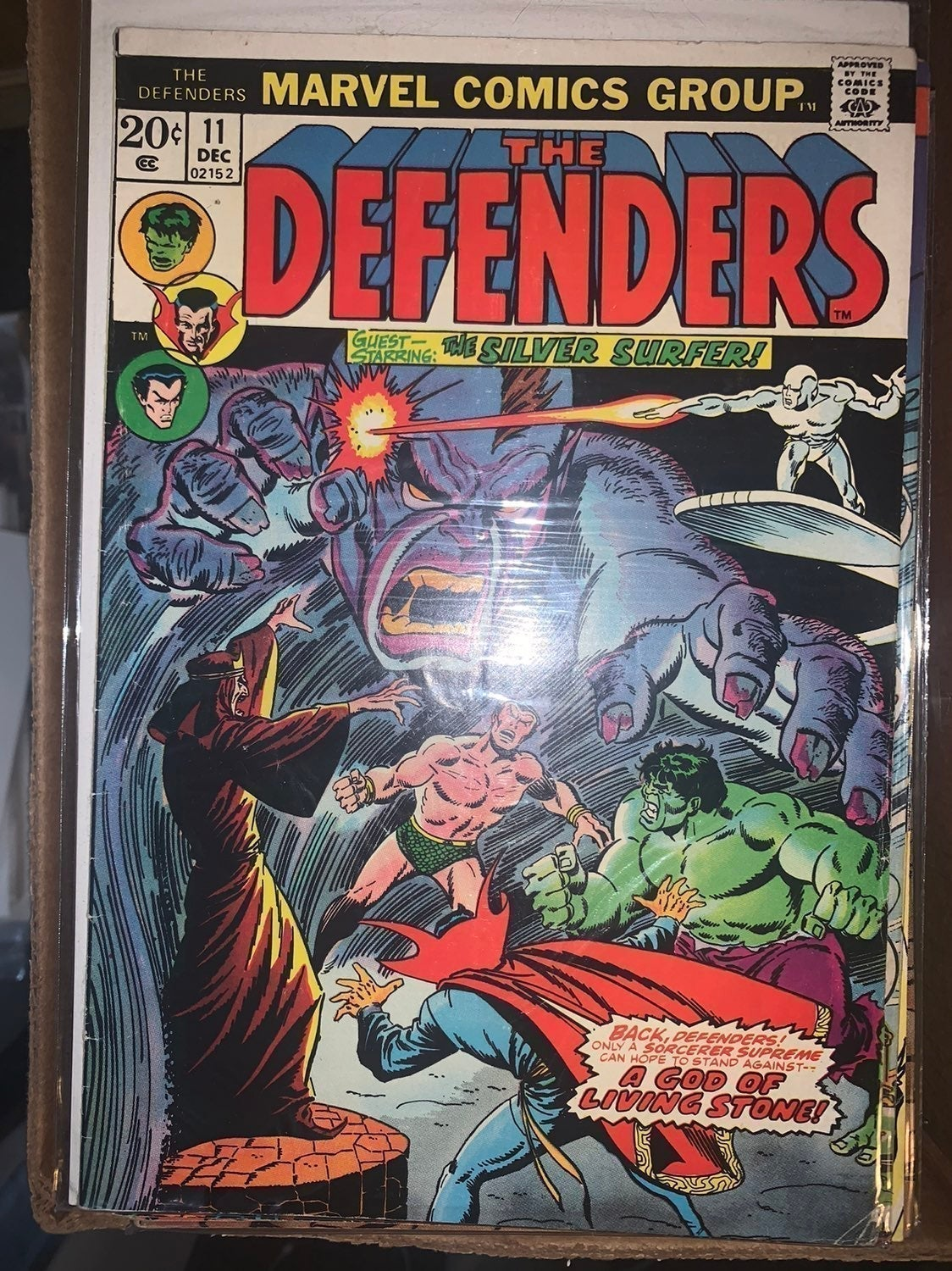 The Defenders #11, With Avengers