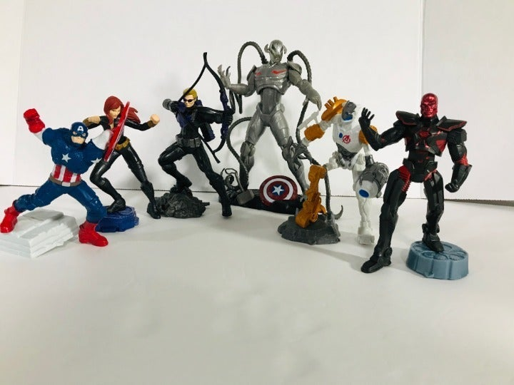 Marvel Playmation Lot of 6