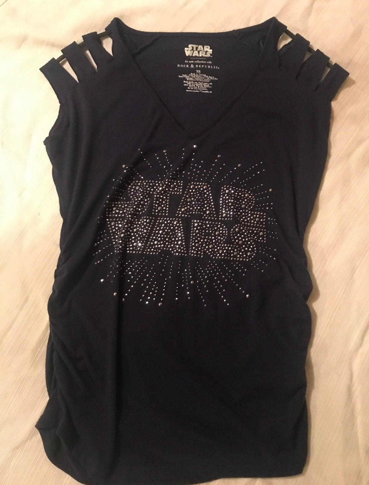 Rock & Republic Star Wars shirt