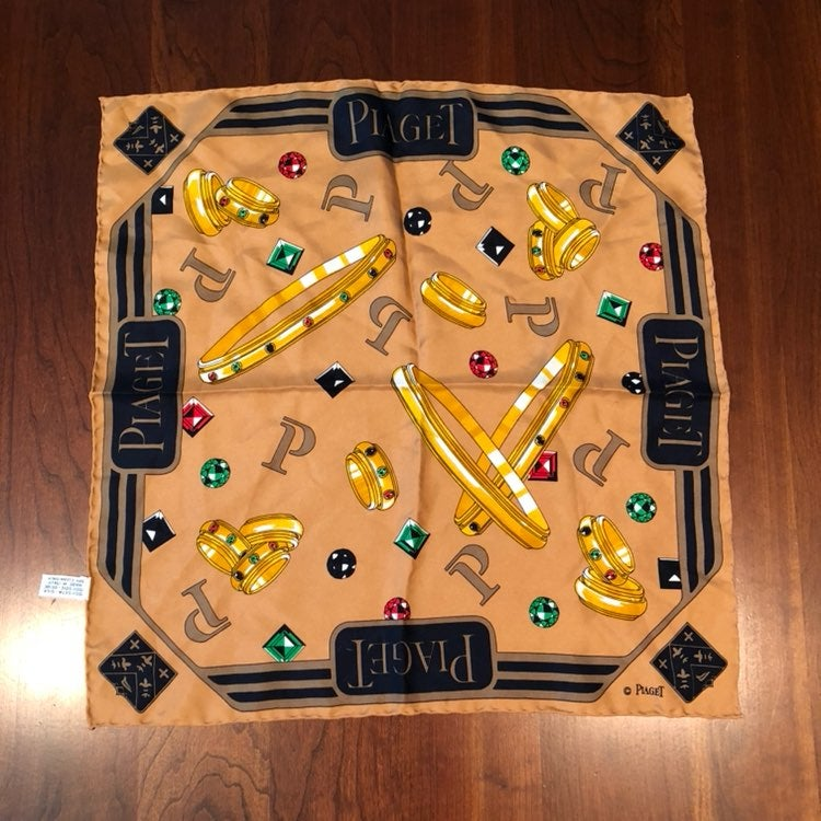 Piaget Square Shaped Silk Scarf