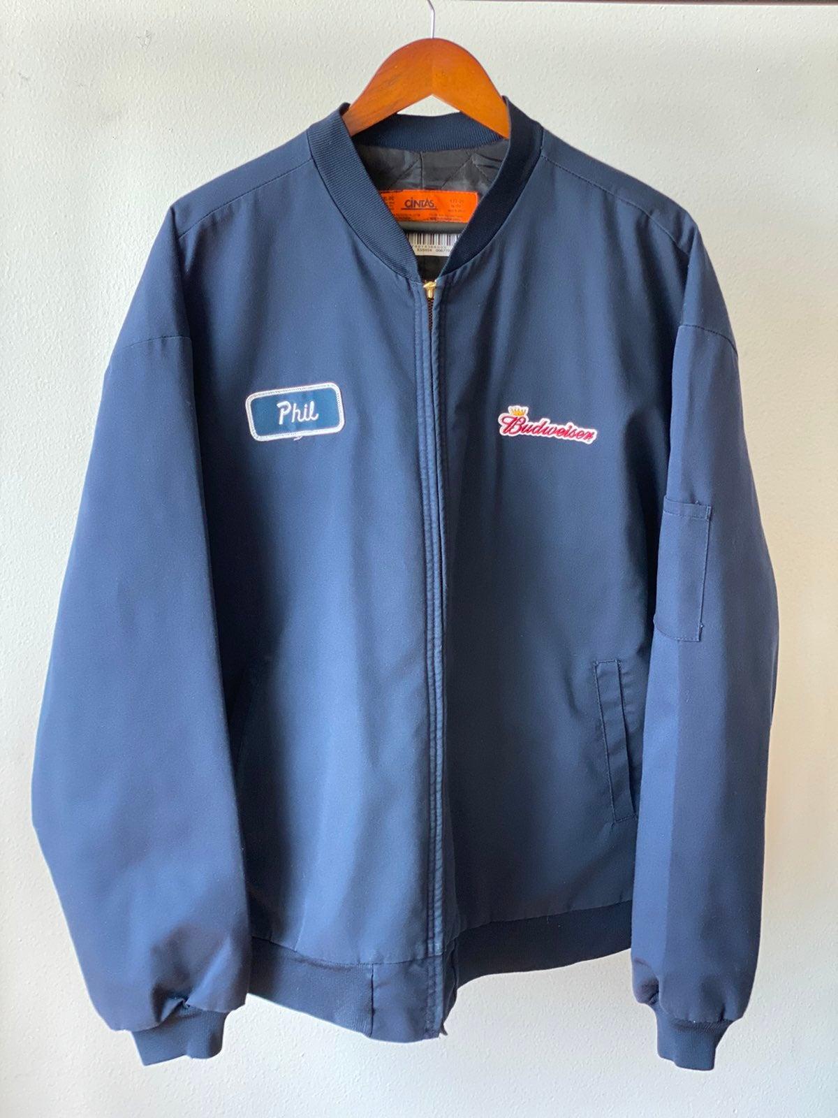 Vintage Budweiser Jacket Sz 2XL