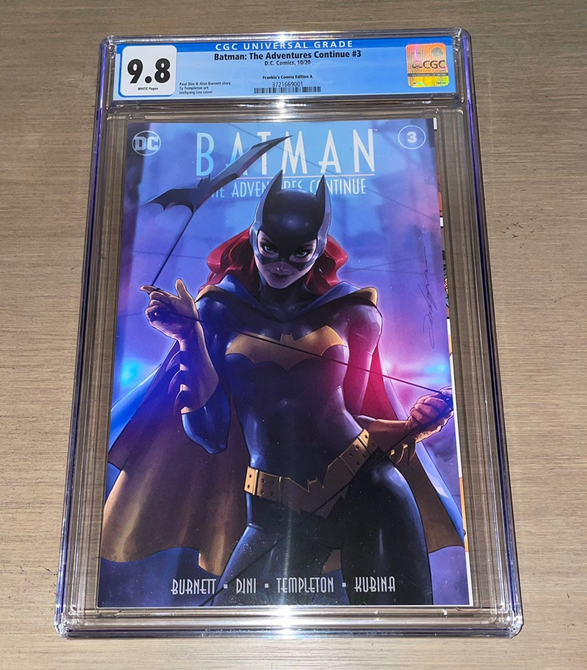 Batman The Adventure Continues 3 CGC 9.8