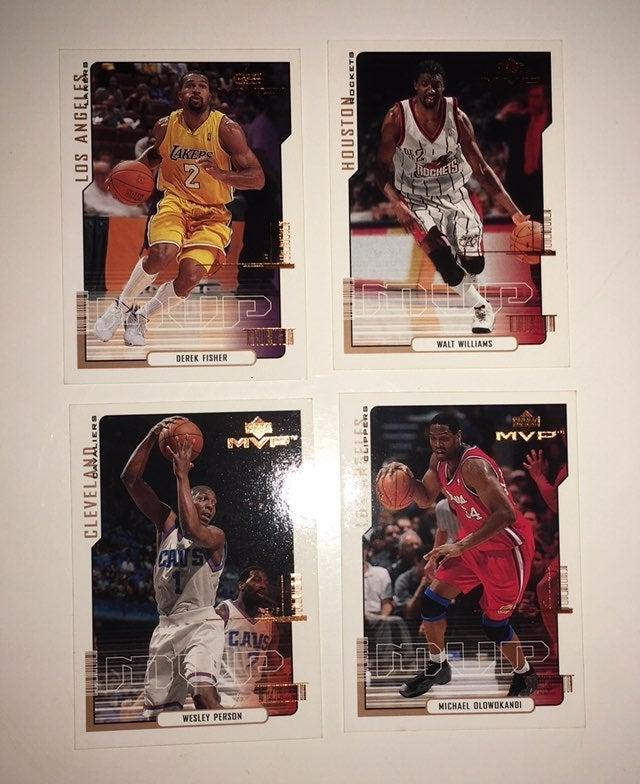 MVP Basketball Trading Cards