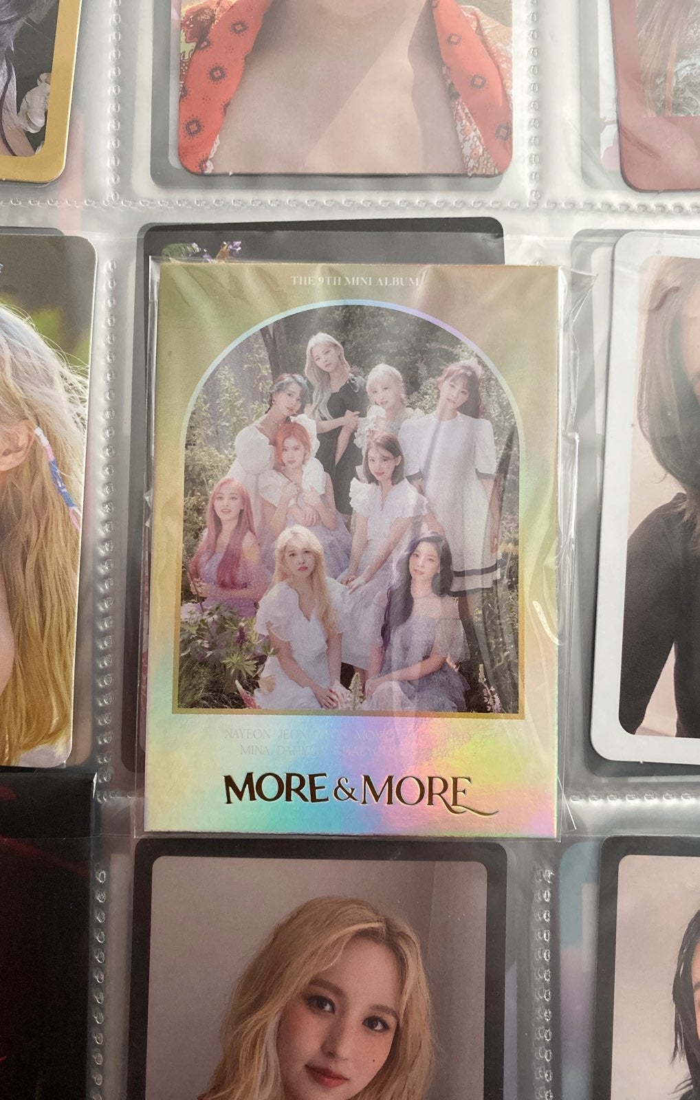 twice more and more photocard
