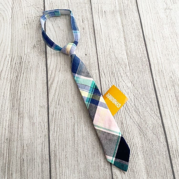 NWT Gymboree 0-24 months plaid tie