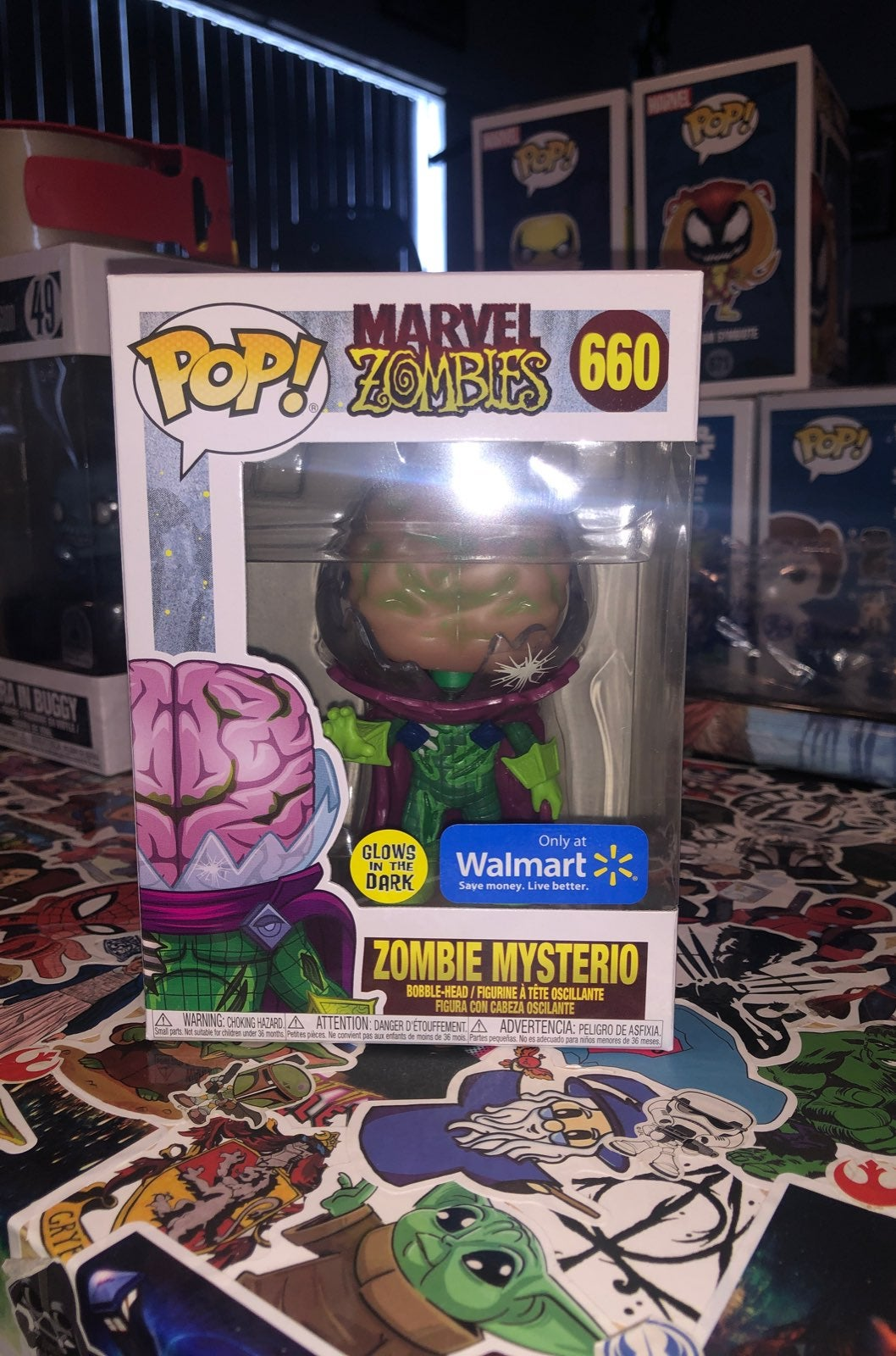 Funko Pop Zombies Mysterio GITD #660