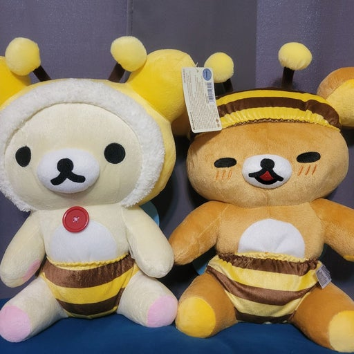 San-X Rilakkuma x Honey Collab Plush
