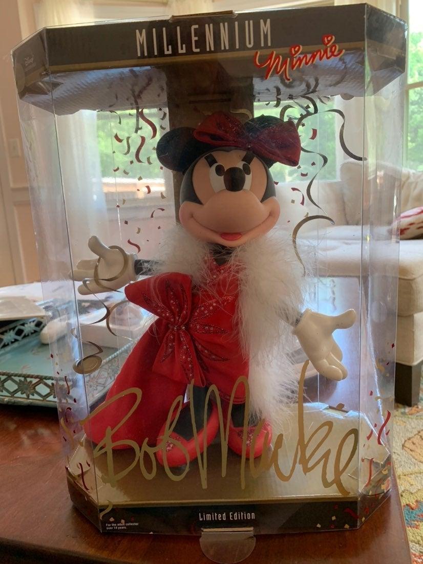 Millennium Minnie Doll Bob Mackie