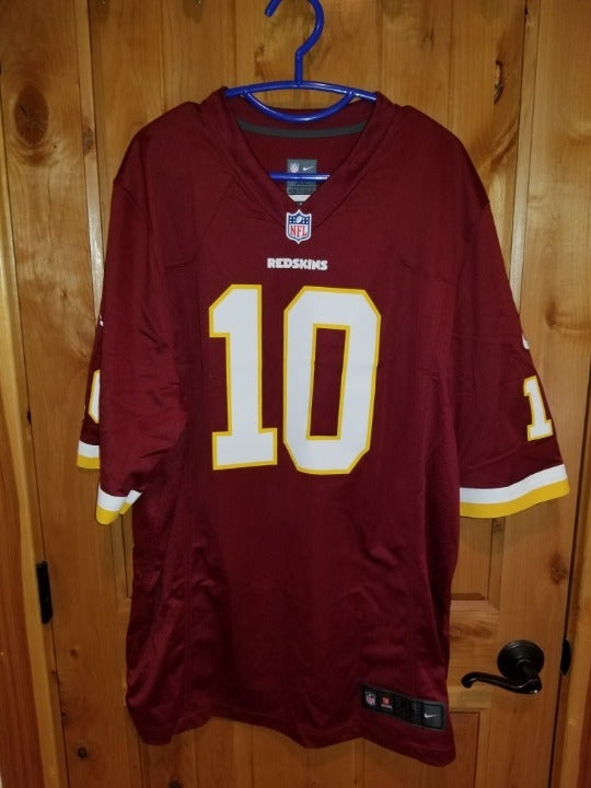 Griffin III Redskins NFL OnField Nike XL