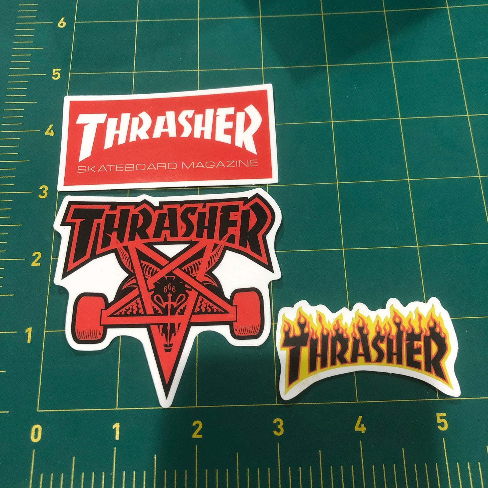 Thrasher magazine sticker decals